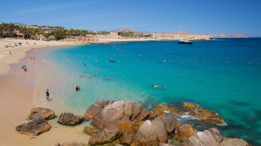 Playa Chileno en Los Cabos