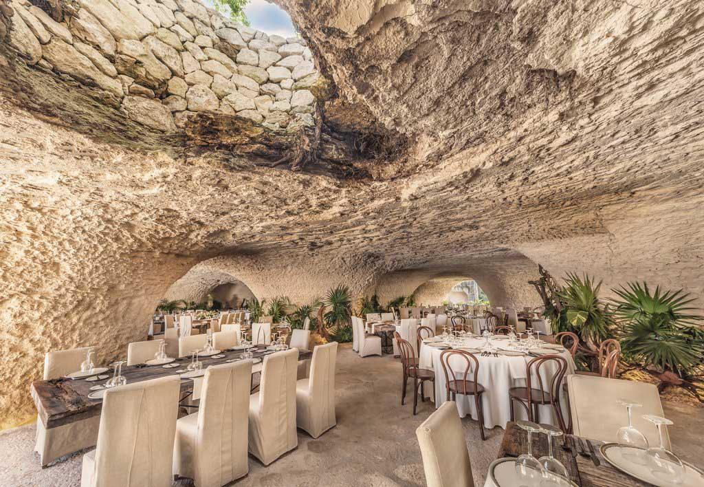 Restaurante en el Hotel Xcaret
