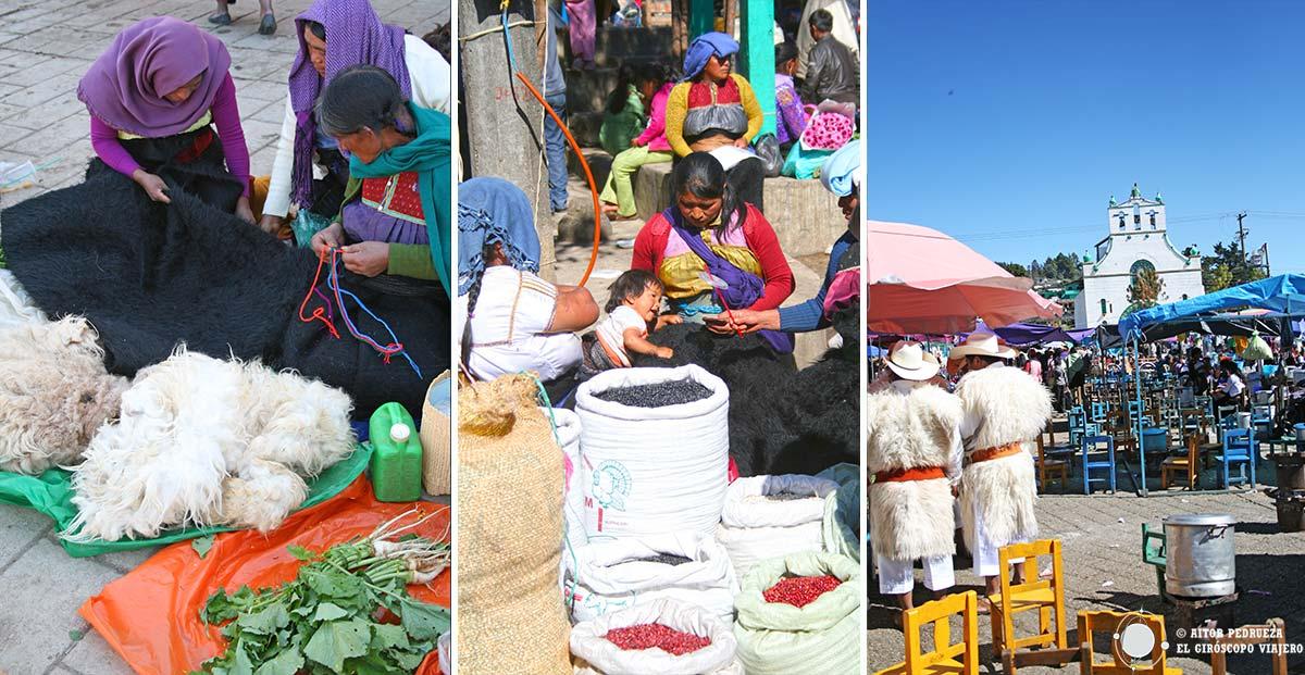 Dia de mercado en San Juan Chamula